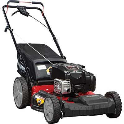 "Snapper 12AVB2A2707 21"" Self Propelled Gas Powered Mower with Side Discharge, Mulching"