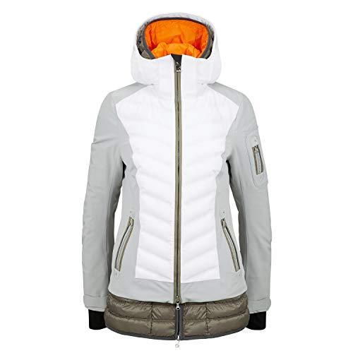 Veste De Ski Bogner Rumer Ski Jacket Grey White Khaki