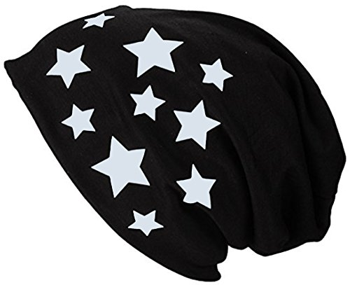 Jersey Summer Spring Ice Blue Man Bonnet Long Star hat 2store24 Beanie Woman Uq5YxZw