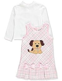 Sweet Heart Rose Girls' 2-Piece Dress Set Outfit