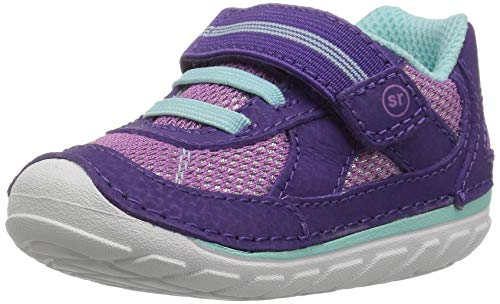 Stride Rite Girls' Soft Motion Jamie Sneaker, Purple, 5.5 M US Toddler]()