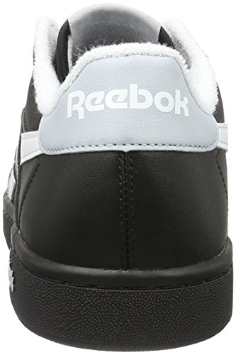 Reebok Npc Uk Retro, Zapatillas para Hombre Negro (black/white/cloud Grey)