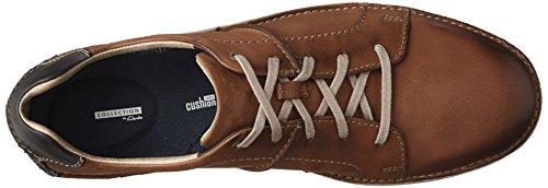 Clarks Mens Kitna Walk Sneaker In Mogano Nubuck