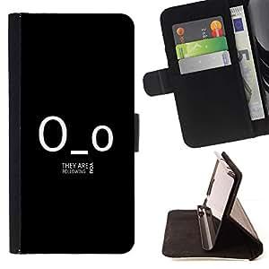 Momo Phone Case / Flip Funda de Cuero Case Cover - Gracioso - están siguiendo - Samsung Galaxy Note 3 III
