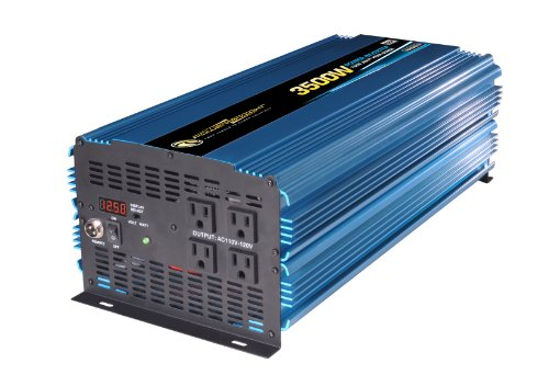 Power Bright PW3500-12 Power Inverter 3500 Watt 12 Volt DC To 110 Volt AC by PowerBright