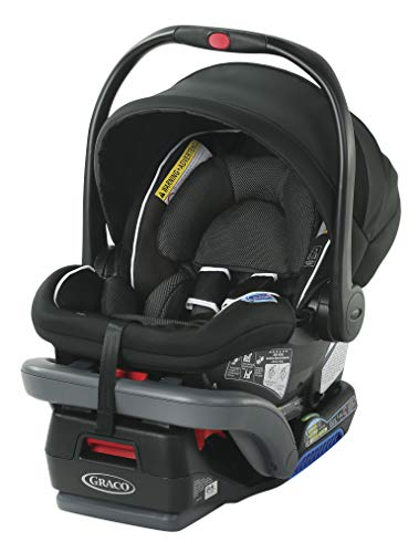Graco SnugRide SnugLock 35 DLX Infant Car Seat | Baby Car Seat, Binx (Best Rated Infant Carriers)