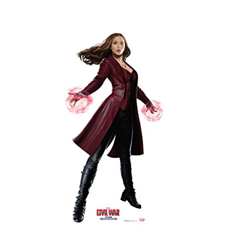 [Scarlet Witch - Captain America: Civil War (2016) - Advanced Graphics Life Size Cardboard Standup] (Witch Cutouts)