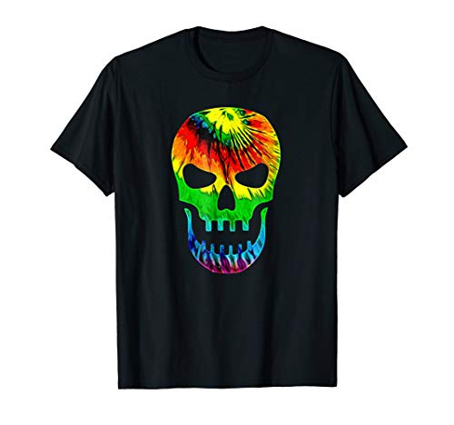 Rastafarian Tie Dye Halloween Skull