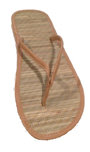 Womens Bamboo Sandals by L.A. Beauty (5789) ()