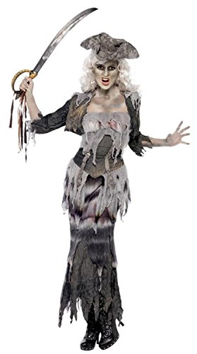 Ghost Ship Pirate Costume Ladies (Ladies Ghost Ship Ghoulina Costume Halloween Outfit - Size 20-22)