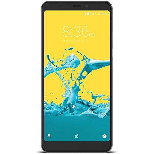 ZTE Blade Max 2S Factory Unlocked Phone - 6Inch Screen - 32GB - Grey (U.S. Warranty) (Zte Axon 7 T Mobile Wifi Calling)