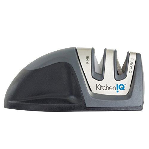 - KitchenIQ Diamond Edge Grip 2 Stage Knife Sharpener