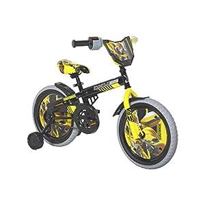 "Dynacraft Transformers Bumble Bee Boys BMX Street Bike 16"", Black/Yellow/Gray"