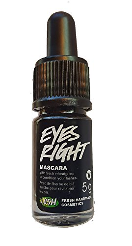 Eyes Right Mascara By Lush : All Natural , Vegan & Fresh Ingredients Made with Fresh Wheatgrass 5.0g