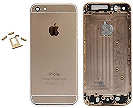 E&B Metal Back Housing Cover Replacement for iPhone 6S Plus (Rose Gold)
