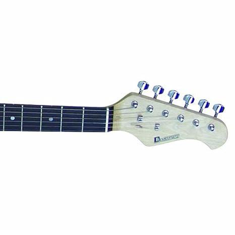 Dimavery 26211220 ST-312 - Guitarra eléctrica blanca: Amazon.es: Instrumentos musicales
