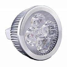 ZQ Mini light bulbs Dimmable MR16 4W 400-440LM LED Spot Bulb (AC/DC 12V) , cold white