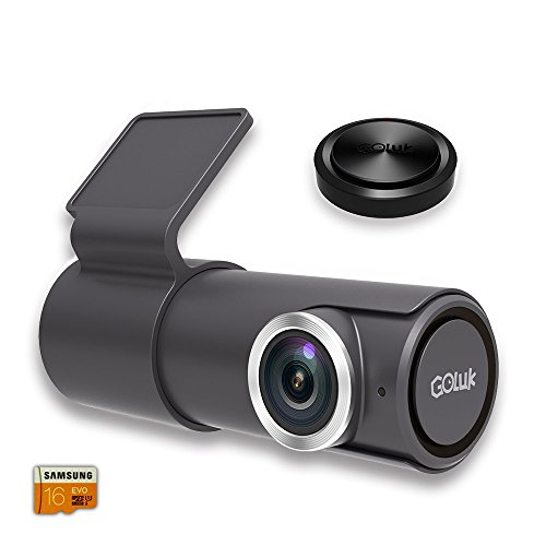 Goluk T2 FHD 1080P 152° WDR Car Dash Cam with Night Vision, G-sensor for Real Time Video Sharing, Motion Detection, Traffic Accident Disputes, Parking Monitor Loop Recording (Front And Rear Facing Dash Cam)