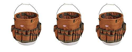 Bucket Boss The Bucketeer Bucket Tool Organizer in Brown, 10030 (Pack of 3) by Bucket Boss (Image #1)