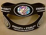 zen energy - The Strength Stability Bracelet. (Large Black)