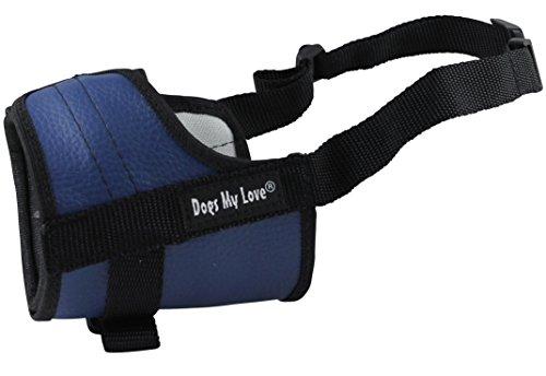 4.5 Snout - Adjustable Dog Muzzle 6 Sizes Blue (XXS: 4.5