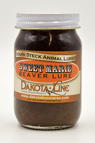 1-4 oz Steck Lures SWEET MARIE Beaver Lure by DakotaLine