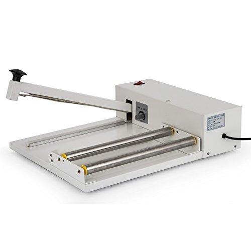 VEVOR 24'' I-Bar Shrink Wrap Machine with Heat Gun I-bar Sealer Compatible with PVC POF Film Shrink Wrap Sealer for Home Commercial Use (24 Inch) by VEVOR (Image #2)