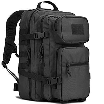 REEBOW GEAR Military Tactical Assault Pack Backpack Army Molle Bug Out Bag Backpacks Small Rucksack for Outdoor Hiking Camping Trekking Hunting Small