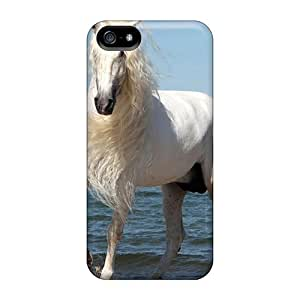 Excellent Iphone 5/5s Case Tpu Cover Back Skin Protector A Beautiful Horse