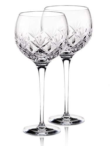 Waterford Crystal Huntley Balloon Wine Glasses, Pair