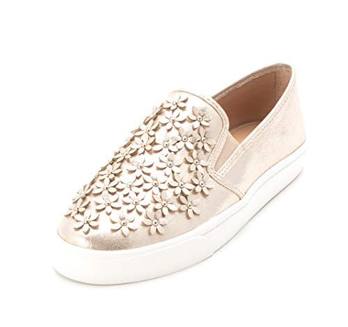 INC International Concepts Womens Sammee6 Low Top Slip On, Pearl Gold, Size 8.0 from INC International Concepts