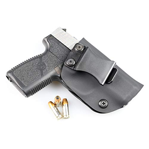 Matte Black - Kydex Concealment IWB Holster (Right-Hand, Walther PPK/S)