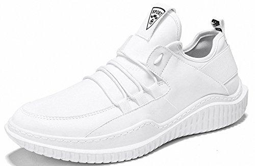 Ben Sports Herren Sneaker Trail Turnschuhe Laufschuhe für Herren J-Weiß