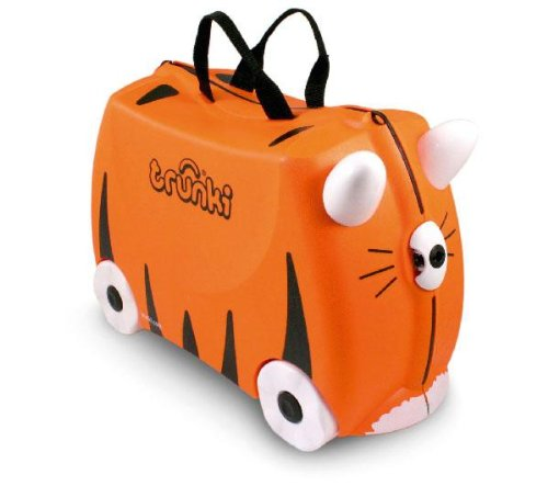 TRUNKI Maleta Trunki Tipu tigre (9220008) + 5237 - Moto Explorador: Amazon.es: Juguetes y juegos