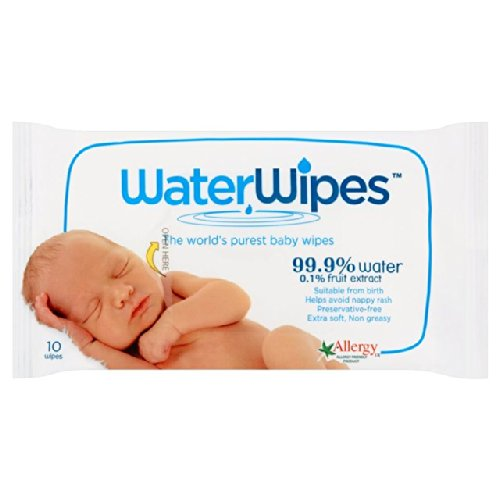 WaterWipes Travel Pack 10 por paquete