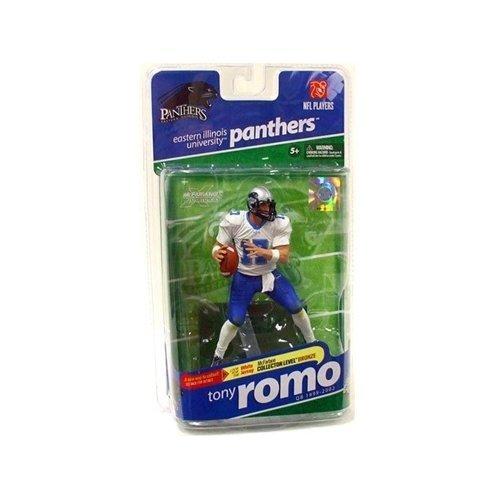 - McFarlane Sportspicks: NCAA Football Series 2 Tony Romo (Eastern Illinois Panthers, White Jersey Variant) Action Figure