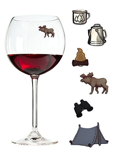 Wine Charms Camping Magnetic Charmed product image