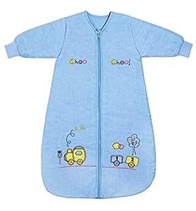 Slumbersac Saco de dormir de bebé Invierno manga larga aprox. 3.5 Tog, trenecito, de- 0-6 meses