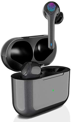 Wireless Earbuds Bluetooth Headphones [8H Continuous Playtime] 40H Total Time Premium Deep Bass Wireless Earphones IPX7 Waterproof Touch Control TWS in Ear Headohones HD Mic Headset USB-C Charge