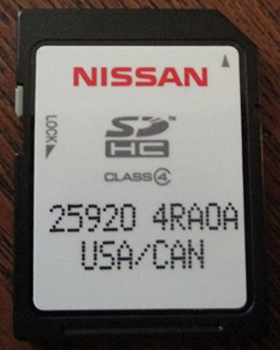 4RA0A 2016 NISSAN CONNECT SD CARD LATEST UPDATE , NAVIGATION GPS MAP DATA , NAVTEQ , NA/NORTH AMERICA US CANADA 2016 MAXIMA 25920-4RA0A by Nissan