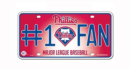 (MLB Philadelphia Phillies #1 Fan Metal Tag)