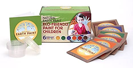 Amazoncom Childrens Earth Paint Kit Toys Games