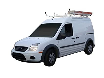 Ford Transit Connect Aluminum Ladder Rack Single Lock Down
