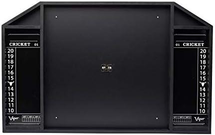 Viper by GLD Products Resolute Dart Backboard, Black