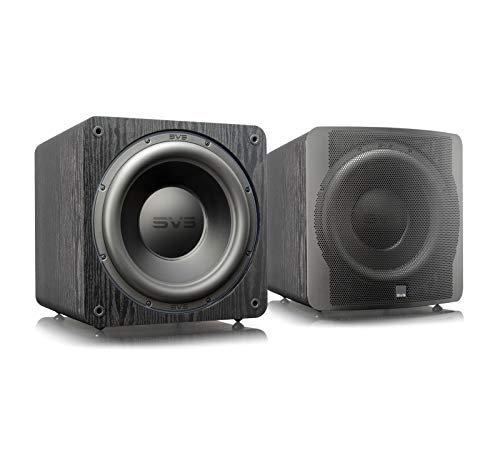 SVS SB-3000 13-inch Subwoofer with 800W RMS, 2,500W Peak Power, and DSP Control App - (Pair) Premium Black Ash