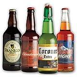 Morbid Enterprises - Halloween Glow in the Dark Beer Labels, 4 Designs