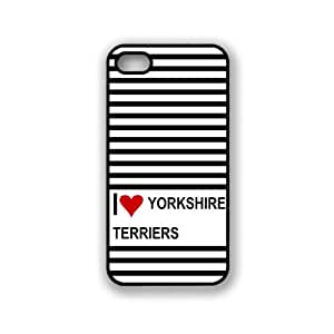 Love Heart Yorkshire Terriers iPhone 5 & 5S Case - Fits iPhone 5 & 5S