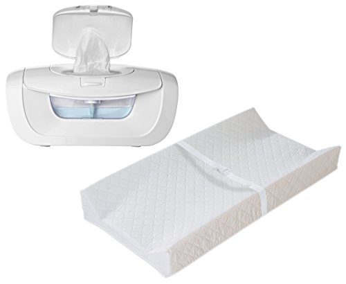 Munchkin Mist Wipe Warmer with Contoured Changing Pad
