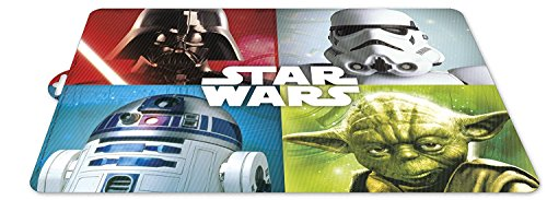 Placemats - Star Wars - Yoda - R2D2 - Darth Vader - Storm Trooper - Set of 2