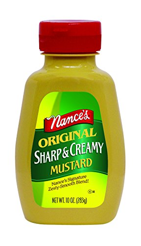 Nance's Mustard Sharp & Creamy, 10-Ounces (Pack of ()